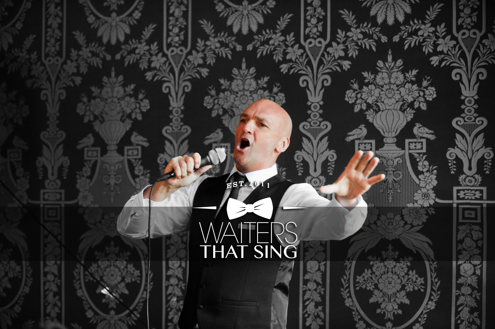 Singing Waiters, Wedding Entertainment, Wedding Singers